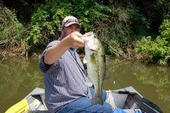 Pêche au bar photo libre de droits