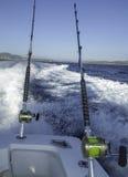 Pêche côtière éloignée Images stock