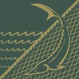Pêche d'esturgeon Images libres de droits