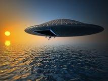 Pêche d'UFO Photos stock