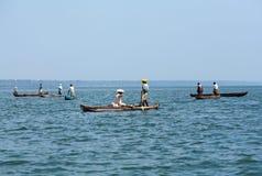 Pêche dans Arabian Sea image stock