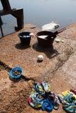 Pêche dans Burkina photographie stock libre de droits