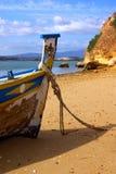 pêche de bateau Photos libres de droits