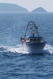 pêche de bateau Photographie stock libre de droits