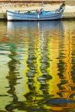 pêche de bateau images libres de droits