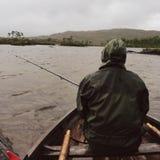 Pêche de bateau Image libre de droits