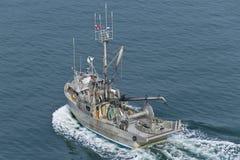 pêche de bateau Photo stock
