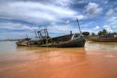 pêche de bateau photos stock