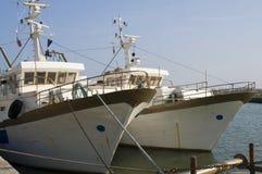 pêche de bateaux Photos stock