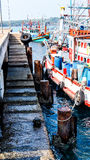 pêche de bateaux thaïe Photographie stock