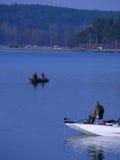 Pêche de début de la matinée Photos stock