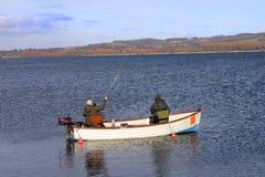 Pêche de mouche photo stock