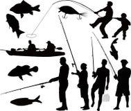 Pêche de pêcheurs de personnes Image stock