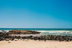 Pêche de roche Photo stock