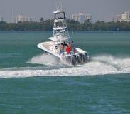 Pêche de sport Boad Photo libre de droits