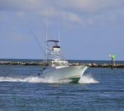 Pêche de sport Boad Photographie stock libre de droits