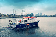 Pêche du bateau Photo stock