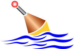 Pêche du flotteur illustration libre de droits