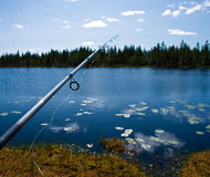 pêche du Scandinave photos libres de droits