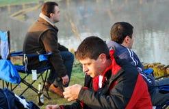Pêche en éditorial de la Belgique Photos stock