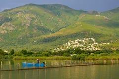 Pêche en Corse photos stock
