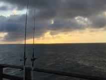 Pêche, foi et réalisation Image stock