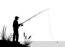 Pêche - illustration Photo libre de droits
