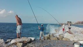 Pêche MALAGA photos stock