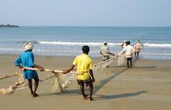 Pêche nette Images libres de droits