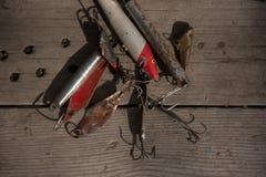Pêche pêchant des lames photographie stock