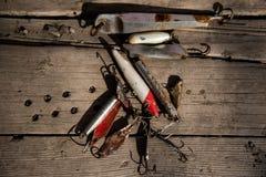Pêche pêchant des lames photo libre de droits