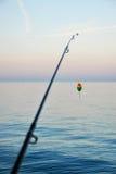 Pêche Pôle Image stock