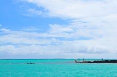 Pêche par la mer Image libre de droits