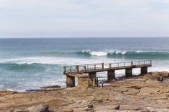Pêche Pier Jetty Images libres de droits