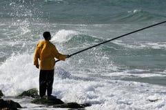Pêcheur égyptien Images libres de droits