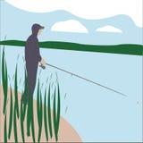 Pêcheur Photographie stock libre de droits