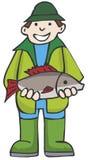 Pêcheur Images libres de droits