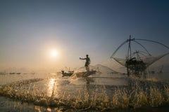 Pêcheur Photo libre de droits