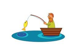 pêcheur Image stock