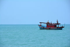 Pêcheur Boat photo libre de droits