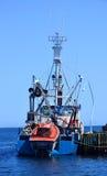 Pêcheur Boat Images libres de droits