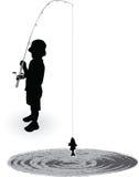 Pêcheur Boy Photographie stock