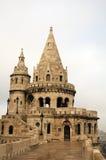 Pêcheur de Budapest \ 'bastion de s images libres de droits