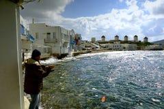 Pêcheur local Image stock