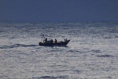 Pêcheur Nazare Images libres de droits
