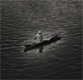 Pêcheur vietnamien Images stock