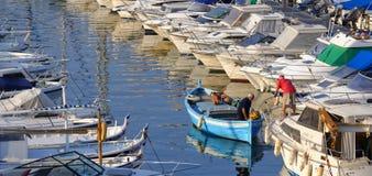 Pêcheurs à Marseille photos libres de droits