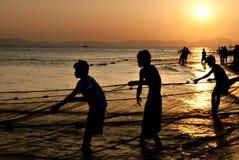 Pêcheurs 2 Image libre de droits