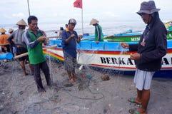 pêcheurs Photo stock