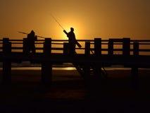 pêcheurs Photos stock